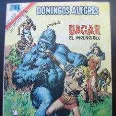 Tebeos: DOMINGOS ALEGRES, DAGAR EL INVENCIBLE. Lote 42313770