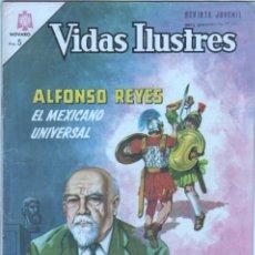 Tebeos: NOVARO - VIDAS ILUSTRES Nº 134 - 1966 - ALFONSO REYES, EL MEXICANO UNIVERSAL. Lote 42323296