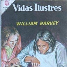 Tebeos: NOVARO - VIDAS ILUSTRES Nº 123 - 1965 - WILLIAM HARVEY, DESCUBRIDOR DE LA CIRCULACION DE LA SANGRE. Lote 42323512