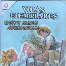 Tebeos: NOVARO - VIDAS EJEMPLARES Nº 213 - 1966 - SANTA MARIA MAZZARELLO. Lote 42323652