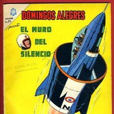 Tebeos: DOMINGOS ALEGRES, NOVARO, Nº EXTRAORDINARIO , EL MURO DEL SILENCIO , 1965 , ORIGINAL. Lote 42545806