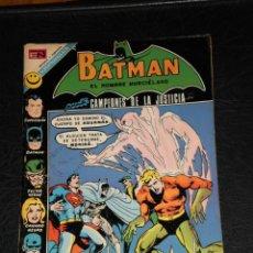 Tebeos: BATMAN EN N° 645 CAMPEONES DE LA JUSTICIA! - ORIGINAL EDITORIAL NOVARO 1972 - IMPRESO EN ESPAÑA. Lote 42576294