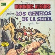 Tebeos: LOS GEMELOS DE LA SELVA. DOMINGOS ALEGRES Nº1022. NOVARO, 1973. Lote 42597445