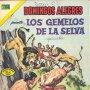 LOS GEMELOS DE LA SELVA. DOMINGOS ALEGRES Nº1022. NOVARO, 1973