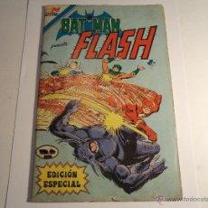 Tebeos: BATMAN PRESENTA: FLASH. EDICIÓN ESPECIAL (64 PAG). NOVARO. Lote 42616264
