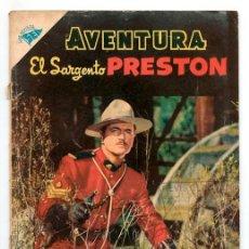 Tebeos: AVENTURA - Nº 60 - EL SARGENTO PRESTON - SEA - 1957. Lote 245427510