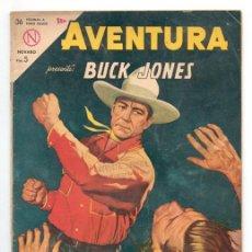 Tebeos: AVENTURA - Nº 319 - BUCK JONES - ED. NOVARO - 1964. Lote 42918385