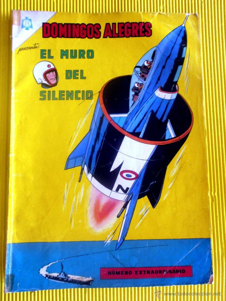 EL MURO DEL SILENCIO NUMERO EXTRAORDINARIO DOMINGOS ALEGRES 1965 TEBEO (Tebeos y Comics - Novaro - Domingos Alegres)