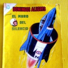 Tebeos: EL MURO DEL SILENCIO NUMERO EXTRAORDINARIO DOMINGOS ALEGRES 1965 TEBEO. Lote 42965772