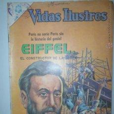 Tebeos: VIDAS ILUSTRES NOVARO # 141 AÑO 1966. EIFFEL EL COSTRUCTOR DE LA TORRE. SERIE AGUILA PRIMERA EPOCA. Lote 42998156