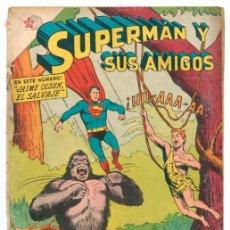 Tebeos: SUPERMÁN Y SUS AMIGOS - Nº 11 - JAIME OLSEN, EL SALVAJE - ED. RECREATIVAS MEXICO - 1956. Lote 43147283