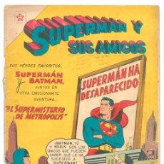 Tebeos: SUPERMÁN Y SUS AMIGOS - Nº 18 - EL SUPERMISTERIO DE METRÓPOLIS - ED. RECREATIVAS MEXICO - 1957. Lote 43147695