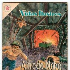 Tebeos: VIDAS ILUSTRES - Nº 42 - ALFREDO NOBEL - ED. RECREATIVAS MEXICO - 1959. Lote 43156576