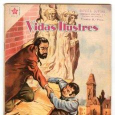 Tebeos: VIDAS ILUSTRES - Nº 45 - AUGUSTO RODIN - ED. RECREATIVAS MEXICO - 1959. Lote 43156590