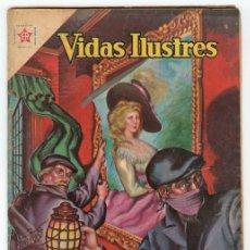 Tebeos: VIDAS ILUSTRES - Nº 62 - GAINSBOROUGH, EL PINTOR DE INGLATERRA - ED. RECREATIVAS MEXICO - 1961. Lote 43156634