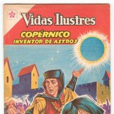 Tebeos: VIDAS ILUSTRES - Nº 74 - COPÉRNICO, INVENTOR DE ASTROS - ED. RECREATIVAS MEXICO - 1962. Lote 43156659
