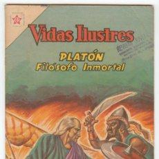 Tebeos: VIDAS ILUSTRES - Nº 83 - PLATÓN, FILÓSOFO INMORTAL - ED. RECREATIVAS MEXICO - 1962. Lote 43156690