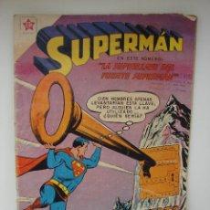 Tebeos: SUPERMAN. EDITORIAL NOVARO. NUMERO 206. AÑO 1959.. Lote 43191431