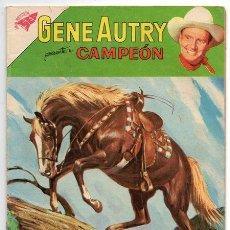 Tebeos: GENE AUTRY # 77 NOVARO 1960 CAMPEON & AGUAS PELIGROSAS MUY BUEN ESTADO. Lote 43368640