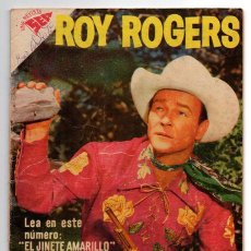 Tebeos: ROY ROGERS # 70 NOVARO 1958 TIGRE EL JINETE AMARILLO BUEN ESTADO. Lote 43368750