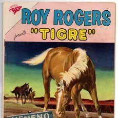 Tebeos: ROY ROGERS # 111 NOVARO 1961 TIGRE & DOBLE CACERIA MUY BUEN ESTADO. Lote 43379363