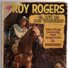 Tebeos: ROY ROGERS # 87 NOVARO 1959 & TIGRE DERRUMBE, UN TIO OLVIDADIZO & LA HEREDERA. Lote 43409708