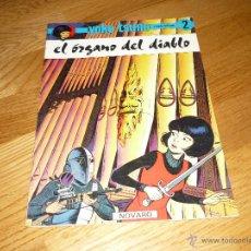 Tebeos: EL ORGANO DEL DIABLO YOKO TSUNO 2 EDITORIAL NOVARO B.E.. Lote 43431189