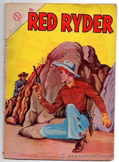 RED RYDER # 112 NOVARO 1964 FALSOS HERMANOS & AVENTURA EN EL SUR (Tebeos y Comics - Novaro - Red Ryder)