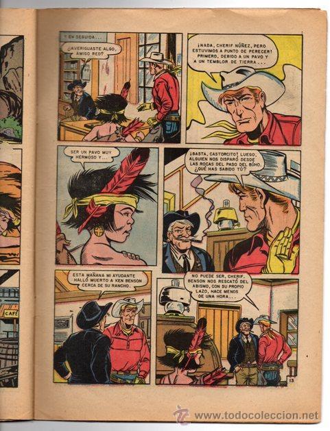 Tebeos: RED RYDER # 112 NOVARO 1964 FALSOS HERMANOS & AVENTURA EN EL SUR - Foto 2 - 43575449