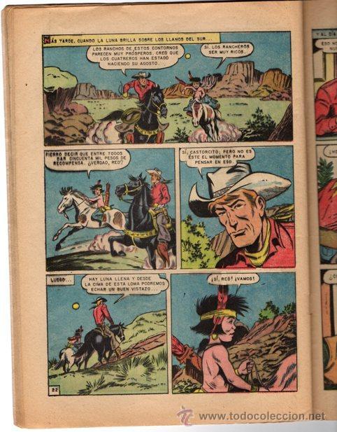 Tebeos: RED RYDER # 112 NOVARO 1964 FALSOS HERMANOS & AVENTURA EN EL SUR - Foto 4 - 43575449