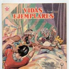 Tebeos: VIDAS EJEMPLARES - Nº 53 - SAN LUIS, REY DE FRANCIA - ED. RECREATIVAS MEXICO - 1958. Lote 43605839