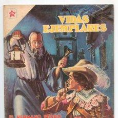Tebeos: VIDAS EJEMPLARES - Nº 54 - EL HERMANO PEDRO DE BETANCOURT - ED. RECREATIVAS MEXICO - 1958. Lote 43605884