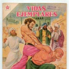 Tebeos: VIDAS EJEMPLARES - Nº 56 - SAN CRISTÓBAL, EL BUEN GIGANTE - ED. RECREATIVAS MEXICO - 1958. Lote 43605923