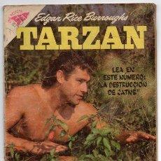 Tebeos: TARZAN # 85 NOVARO 1958 GORDON SCOTT EN TAPA LA HERMANDAD DE LA LANZA, MUY BUEN ESTADO. Lote 43687272