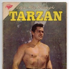 Tebeos: TARZAN # 95 NOVARO 1959 GORDON SCOTT EN TAPA LA HERMANDAD DE LA LANZA, EXCELENTE. Lote 43687335