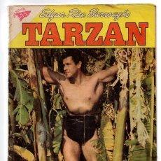 Tebeos: TARZAN # 98 NOVARO 1960 GORDON SCOTT EN TAPA, PRISIONEROS VALLE CATARATA BUEN ESTADO. Lote 43693085
