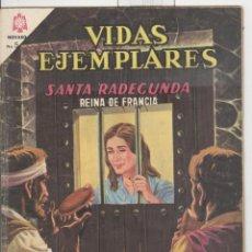 Tebeos: NOVARO. VIDAS EJEMPLARES. SANTA RADEGUNDA REINA DE FRANCIA.. Lote 43695875