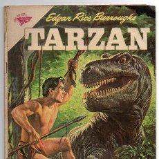 Tebeos: TARZAN # 119 NOVARO 1961 PESADILLA EN LA SELVA, LA HERMANDAD DE LA LANZA, BUEN ESTADO. Lote 43700708