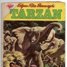 Tebeos: TARZAN # 128 NOVARO 1962 EL RESCATE DE NIKIMA & ALAS EN LA MAÑANA , BUEN ESTADO. Lote 43705608