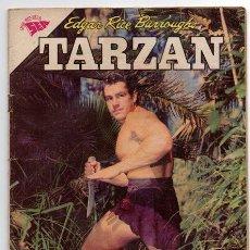Tebeos: TARZAN # 137 NOVARO 1963 GORDON SCOTT EN TAPA, EL DINORNIS & LOS PROMETIDOS, MUY BUEN ESTADO. Lote 43724278
