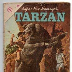 Tebeos: TARZAN # 147 NOVARO 1964 LA CACERIA DE LA FIERA, LA HERMANDAD DE LA LANZA, BUEN ESTADO. Lote 43724445