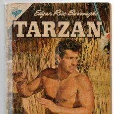 Tebeos: TARZAN # 60 NOVARO 1956 GORDON SCOTT TAPA, CAZADORES PRISIONEROS EN CASTRA SANGUINARIUS, OPAR. Lote 43730471
