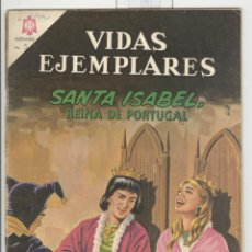 Tebeos: NOVARO VIDAS EJEMPLARES. SANTA ISABEL REINA DE PORTUGAL.. Lote 43880515