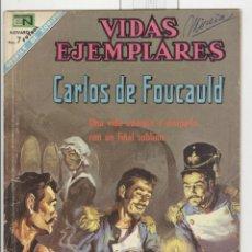 Tebeos: NOVARO. VIDAS EJEMPLARES. CARLOS DE FOUCAULD. Lote 43880611