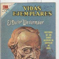 Tebeos: NOVARO. VIDAS EJEMPLARES. EL DOCTOR WESTERMAIER.. Lote 43880632