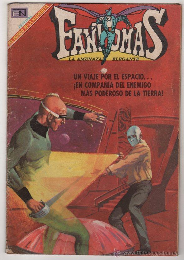 FANTOMAS # 8 NOVARO 1969 RUBEN LARA - 200 EJEMPLARES A LA VENTA - EL BARON NIEBLA .. (Tebeos y Comics - Novaro - Otros)