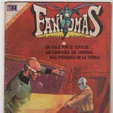 BDs: FANTOMAS # 8 NOVARO 1969 RUBEN LARA - 200 EJEMPLARES A LA VENTA - EL BARON NIEBLA ... Lote 44010472