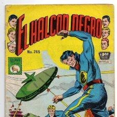 Tebeos: EL HALCON NEGRO # 265 NOVARO 1966 BLACKHAWK EL DEMONIO IGNEO MUY BUEN ESTADO. Lote 44127046