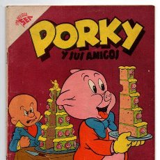 Tebeos: PORKY Y SUS AMIGOS # 74 NOVARO 1957 PATO LUCAS, PETUNIA BUGS BUNNY EXCELENTE ESTADO. Lote 44145532