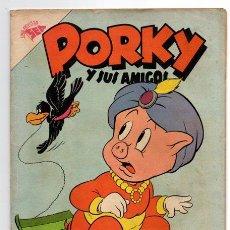 Tebeos: PORKY Y SUS AMIGOS # 70 NOVARO 1957 PATO LUCAS, PETUNIA BUGS BUNNY EXCELENTE ESTADO. Lote 44145738
